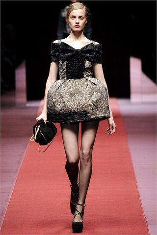 dolce and gabbana evening dress